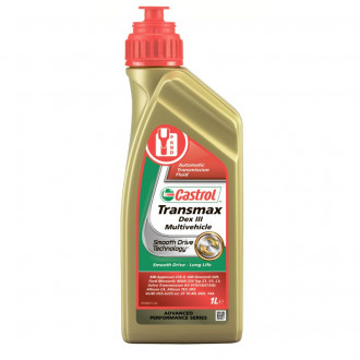 Олива трансміссійна Castrol Transmax Dex III Multivehicle,1л. 157AB3