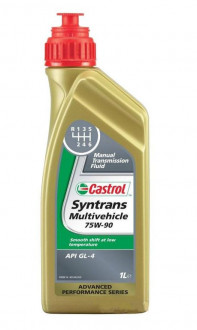 Олива трансміссійна Castrol Syntrans Multivehicle 75W-90, 1л 154FA3